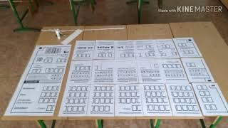 подготовка аудитории к ОГЭ. Оформление информационного стенда с регистрационными полями