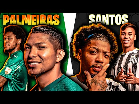 PALMEIRAS X SANTOS 🏆 Quem tem o MELHOR TIME? JOGADOR x JOGADOR 🤔 Final da Libertadores