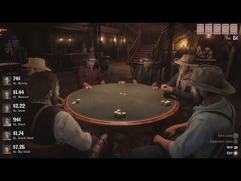Red Dead Redemption 2 - Duel & Playing Poker
