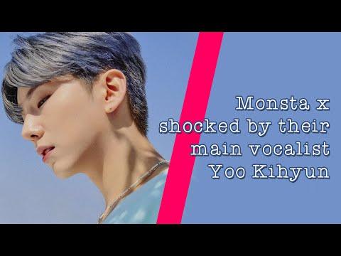 Monsta X shocked by their main vocalist Yoo Kihyun