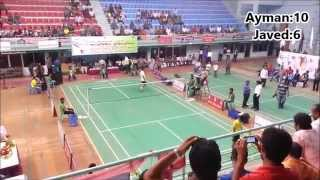 8th bangladesh Games Badminton Final