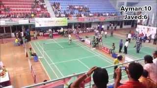 8th bangladesh Games Badminton Final