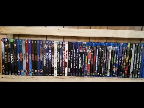05-10-2017: My Complete Marvel Live Action Blu-Ray Collection!
