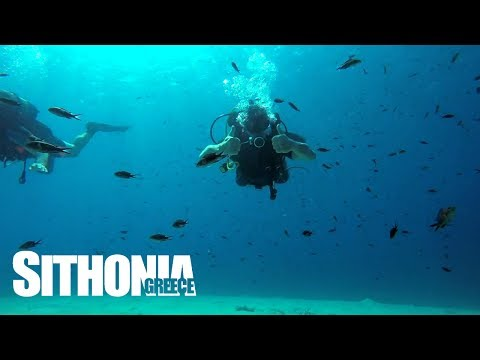 Learn scuba diving in Sithonia Halkidiki