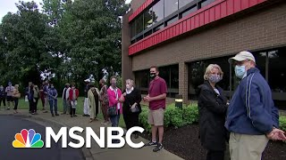 'This Is Important': Early Voters Rush To Polls After Death of Justice Ginsburg | MSNBC
