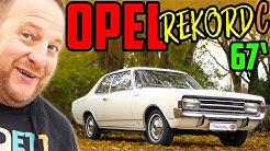 Oldtimer im JAHRESWAGEN Zustand! - 67' Opel Rekord C - Probefahrt & Vorstellung!