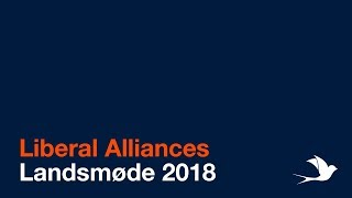 LIVE: Liberal Alliances Landsmøde 2018
