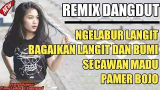 Download lagu DJ NGELABUR LANGIT BAGAIKAN LANGIT DAN BUMI SECAWAN MADU PAMER BOJO