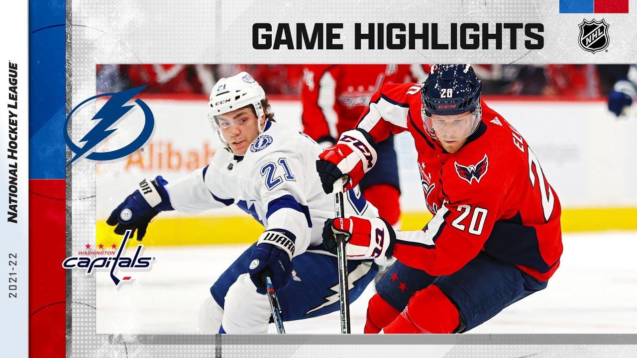 Download Lightning @ Capitals 10/16/21 | NHL Highlights