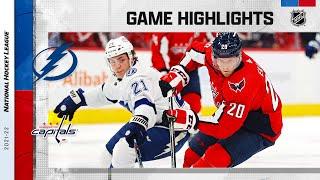 Lightning @ Capitals 10/16/21 | NHL Highlights