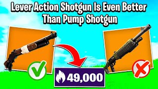 The Lever Action Shotgun Is Even Better Than The Pump Shotgun!!