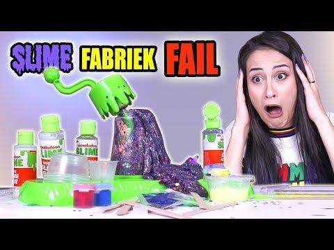 NICKELODEON SLIJM FABRIEK TESTEN - FAIL! || Slime Sunday