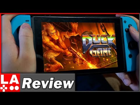 Duck Game Review | (Nintendo Switch/PS4/PC)