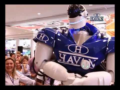 Robô Havan Blumenau