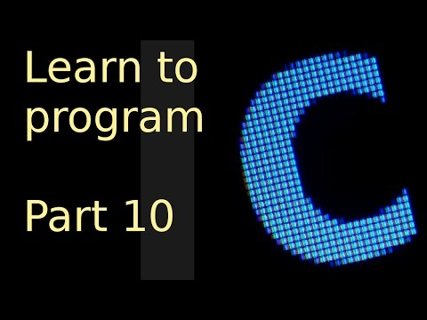 Learn to program with c - Part 10 - Dynamically allocated arrays