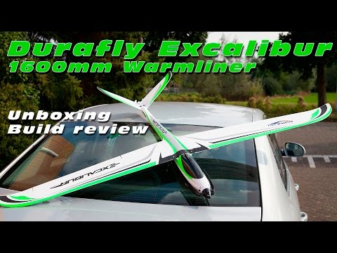 DutchRC - HobbyKing / Durafly Excalibur 1600mm Warmliner - Unboxing + Build!