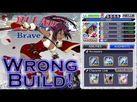 Bleach Brave Souls Wrong Build - Yoruichi NAD (Cacao)