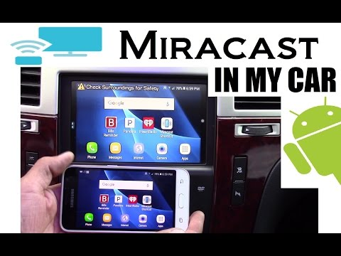 Mirroring My Phone With Miracast In My Car