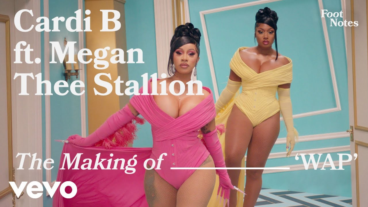 Cardi B - The Making of 'WAP' | Vevo Footnotes ft. Megan Thee Stallion