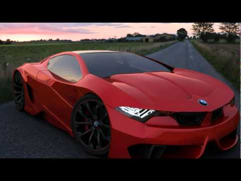 Bmw M10 Gt 4 Concept Cars M5 Gold Youtube