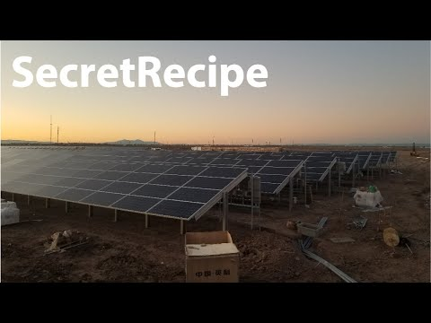 SOLAR Powered Crypto Mining Farm?  | CMRS 58!