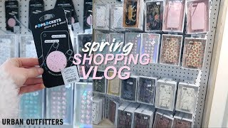 Popsocket & Phone Case Shopping at Urban Outfitters + cherry blossom trees   Spring break vlog #2