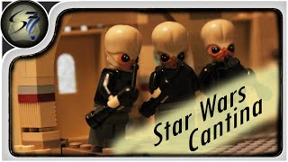 Lego Stop Motion - Star Wars - Mos Eisley Cantina