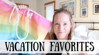 VACATION FAVORITES | MUST HAVE PRODUCTS | SUMMER TRAVEL
