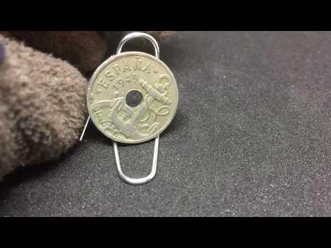 50 Centimos Coin .. 1949 ESPANA .. World Vintage Coin Collectible