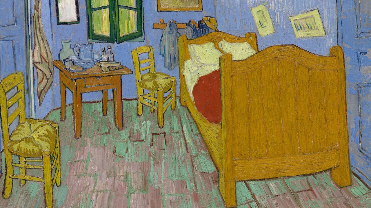 Van Gogh\'s Bedrooms at the Art Institute of Chicago