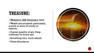 Treasures In Heaven:  What are we depositing? - 2020_0503