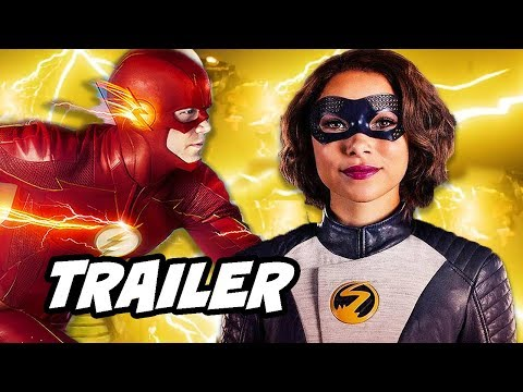 The Flash Season 5 Trailer - Nora's Time Travel Mistake Revealed