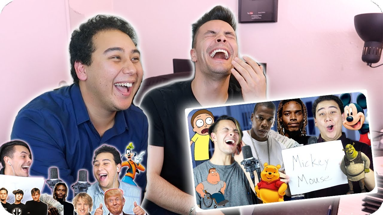 Reacting To Our Impersonation Covers
