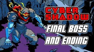 Cyber Shadow - Final Boss Fight, ENDING, & Credits