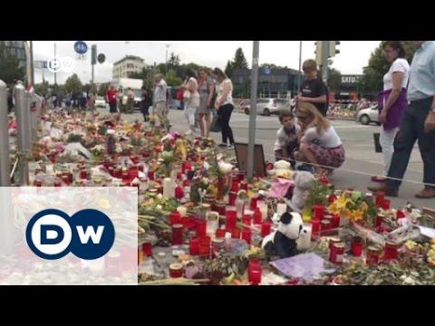 München nach dem Amoklauf   DW Nachrichten