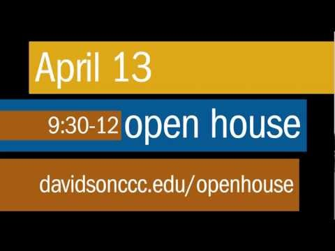Davidson County Community College Open House