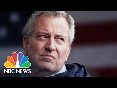 Live: NYC Mayor Bill De Blasio Holds Coronavirus Briefing | NBC News