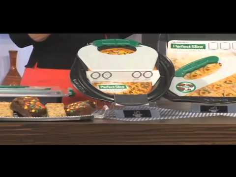 Perfect Slice Bakeware by BergHOFF featured on KCTV-TV CBS, Kansas City, MO