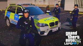 GTA 5 LSPDFR - SCO19 FIREARMS PATROL - The British way #100