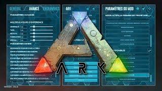 ARK : Nouveaux réglages, Commandes et Codes de triche