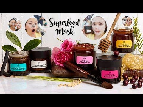 The Body Shop Superfood Mask มาส์ก5สูตรใหม่สำหรับคนรักผิวโดยเฉพาะ