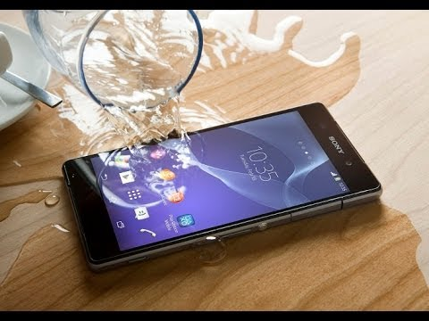 Sony Xperia Z2 Review - Waterproof & Kitkat 4.4 Demo (MWC 2014)