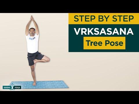 Vrksasana or Vrikasana (Tree Pose) Benefits by Yogi Sandeep Siddhi Yoga