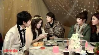 Fu XinBo & Hyomin We got married New cut Eating.f4v