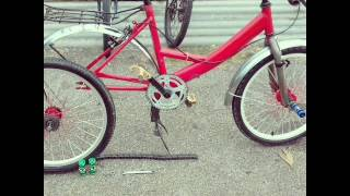Budak basikal jempol Redong1