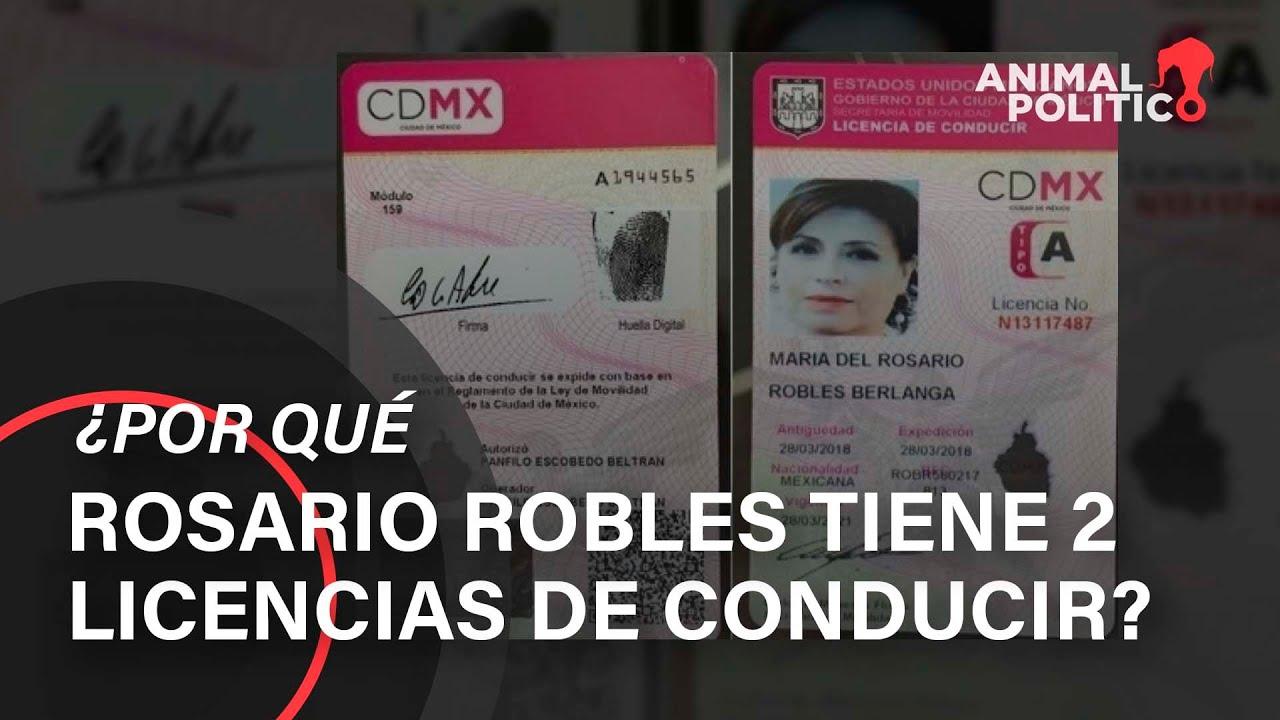 Uso Ilegal De Registros Permitió A Robles Tener Dos Licencias