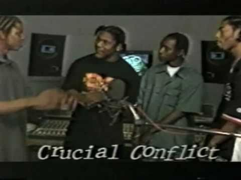 Crucial Conflict Rap City Freestyle 1996