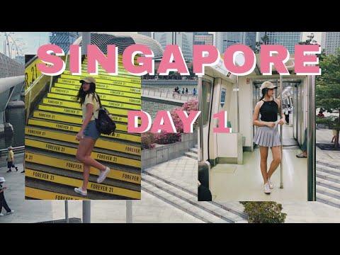 SINGAPORE TRAVEL VLOG 2017 Part 1   mikamer