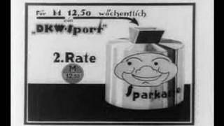 1927 DKW Motorrader promotional cartoon film 6 of 10
