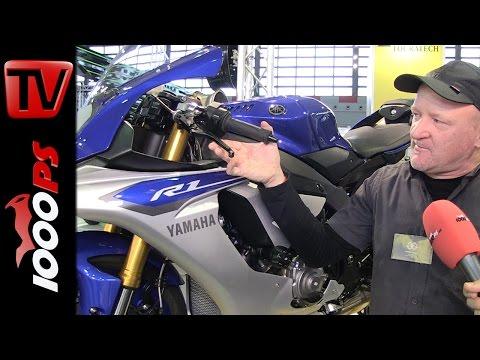 Gilles Tooling | Yamaha R1 Zubehör Neuheiten| Motorräder Dortmund 2015